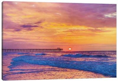 Golden Sunrise Canvas Art Print