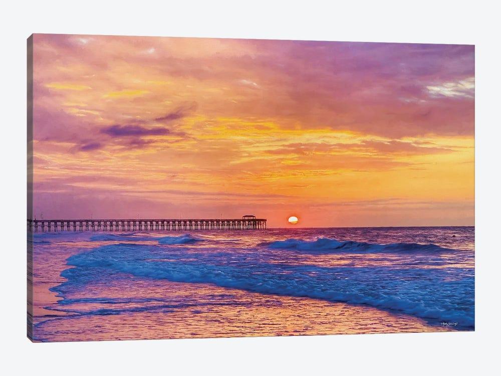 Golden Sunrise by Kathy Jennings 1-piece Canvas Wall Art