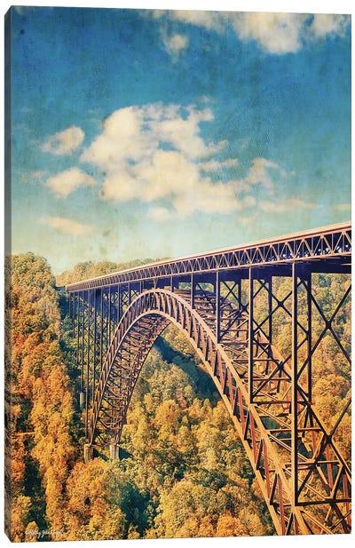 Bridge Over Trees Canvas Art Print