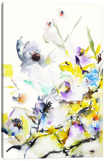 Summer Garden V Canvas Art Print