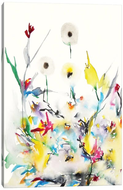 Summer Garden Vi Canvas Art Print