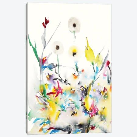 Summer Garden Vi Canvas Print #KJO7} by Karin Johannesson Canvas Wall Art