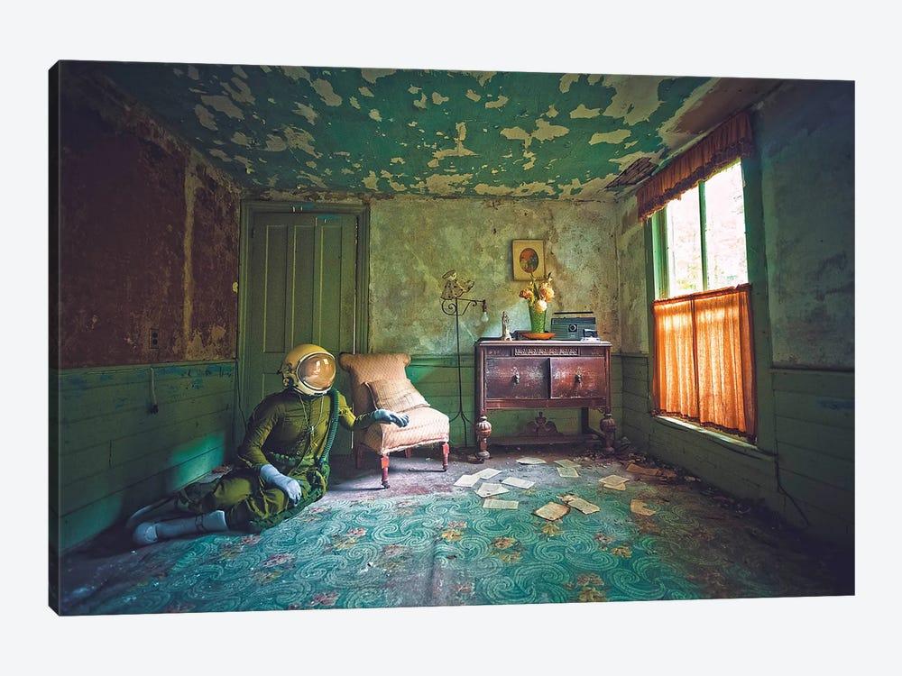 The Lonely Astronaut XII by Karen Jerzyk 1-piece Canvas Art