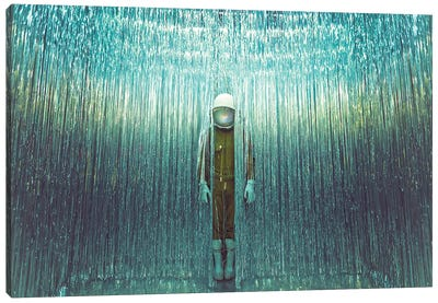 The Lonely Astronaut XIV Canvas Art Print