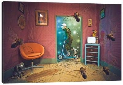 The Lonely Astronaut XVIII Canvas Art Print