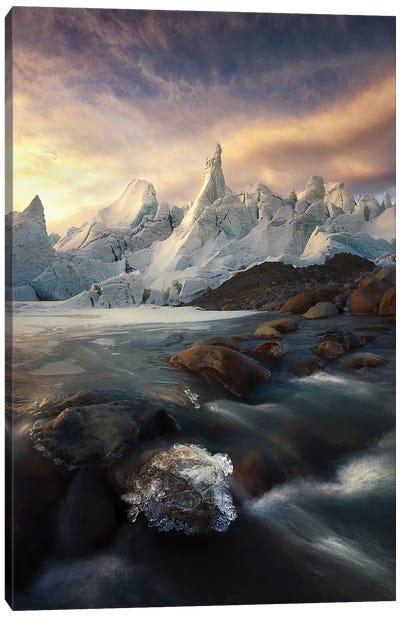 IceCaps Canvas Art Print