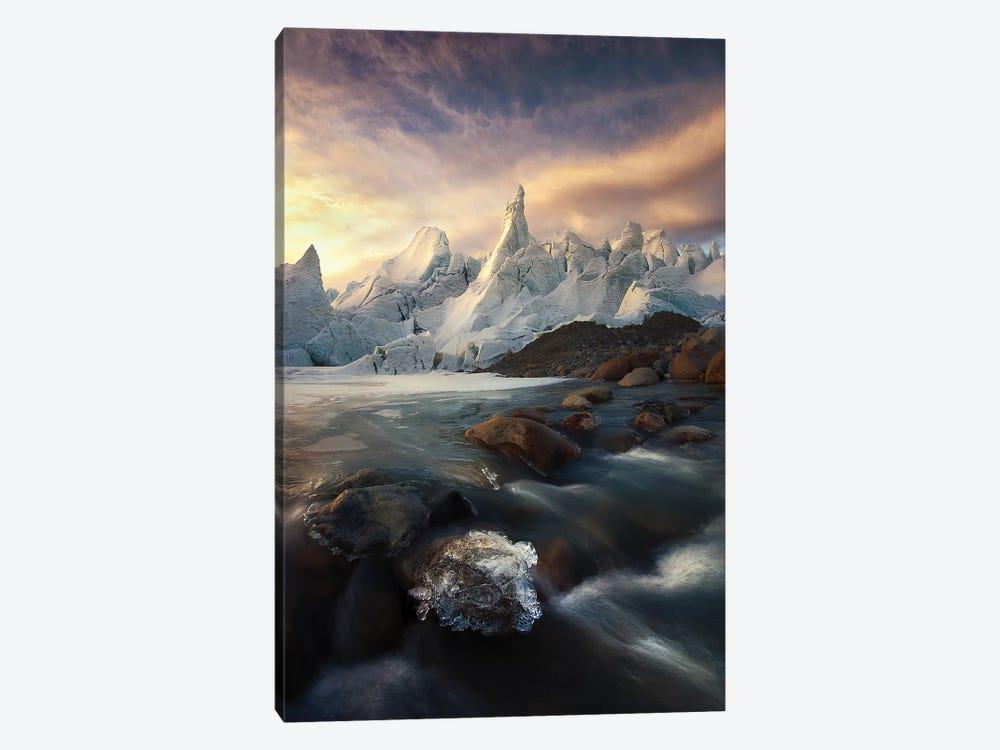 IceCaps by kaka 1-piece Canvas Print