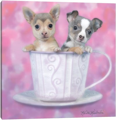 Tea for Two Canvas Art Print