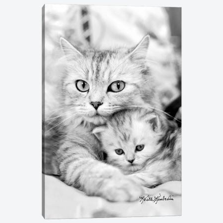 Twinkie & Kit  Canvas Print #KKI39} by Keith Kimberlin Art Print