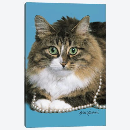 Clutching My Pearls Canvas Print #KKI7} by Keith Kimberlin Canvas Print
