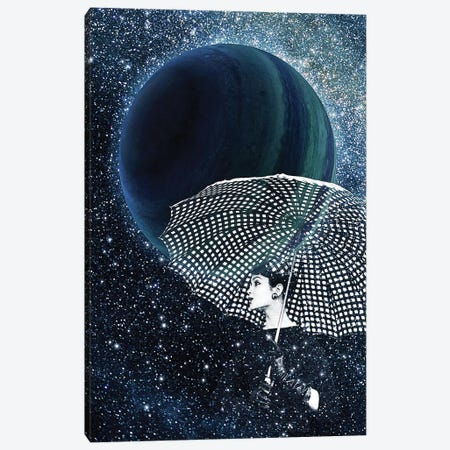 Sparkling Stars Canvas Print #KKL100} by Kiki C Landon Canvas Artwork