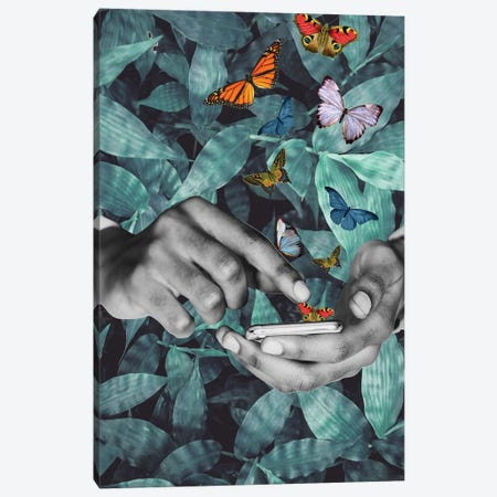 Believe In Your Magic Canvas Print #KKL10} by Kiki C Landon Canvas Wall Art