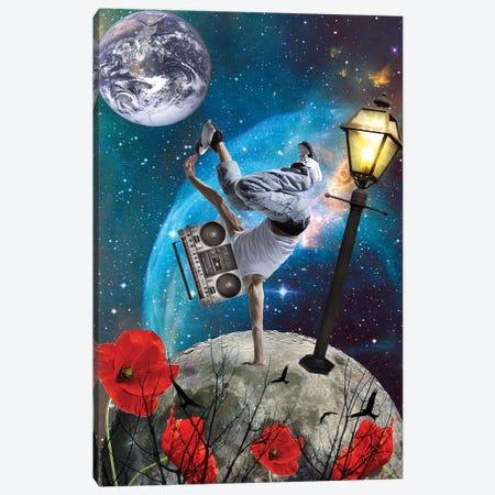 Universe Is Music Canvas Print #KKL113} by Kiki C Landon Canvas Print