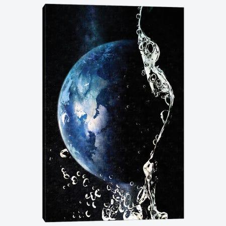 Waterdrop Canvas Print #KKL119} by Kiki C Landon Canvas Art Print