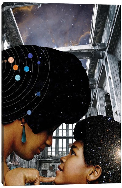 You Are My Universe Canvas Art Print