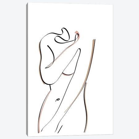 Intimate Canvas Print #KKL131} by Kiki C Landon Art Print