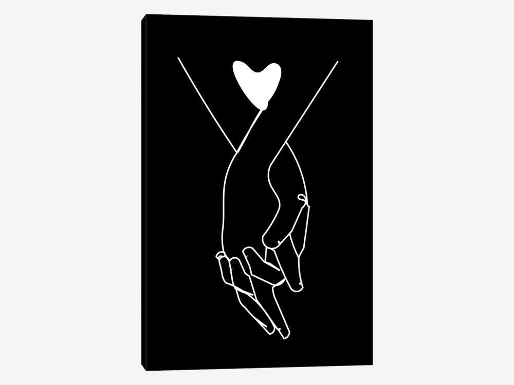 Holding Hands by Kiki C Landon 1-piece Canvas Artwork