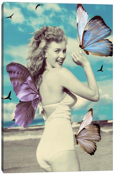 Butterfly Symphony Canvas Art Print