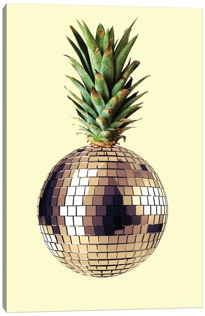 Ananas Party Canvas Art Print