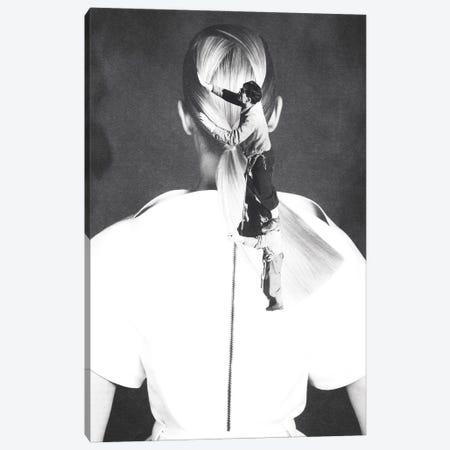 Got Your Back Canvas Print #KKL49} by Kiki C Landon Art Print