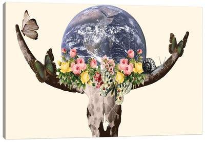Holy Bullskull Canvas Art Print