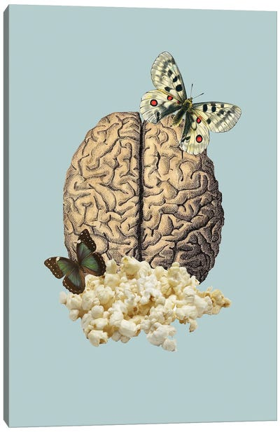 Holy Popcorn Canvas Art Print