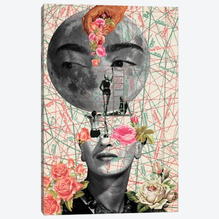 My Muse I Canvas Print #KKL79} by Kiki C Landon Canvas Wall Art