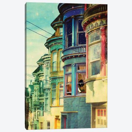 Behind The Window Canvas Print #KKL9} by Kiki C Landon Canvas Print