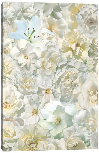 Flowers Like Frosting Canvas Art Print
