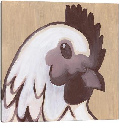 Paint Hen Canvas Art Print