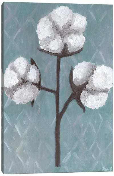 Cotton Stalks II Canvas Art Print
