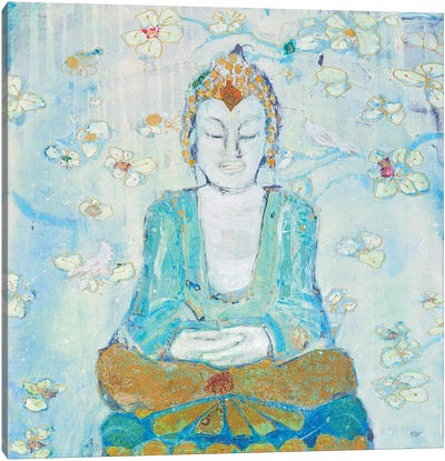 Buddha Square Canvas Art Print