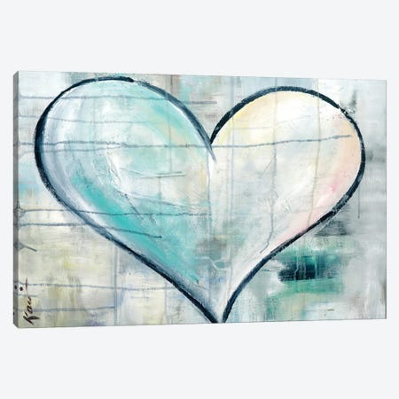 Look Of Love Canvas Print #KLE3} by Kami Lerner Canvas Art Print