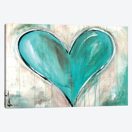 Tell Me When Canvas Print #KLE4} by Kami Lerner Canvas Artwork