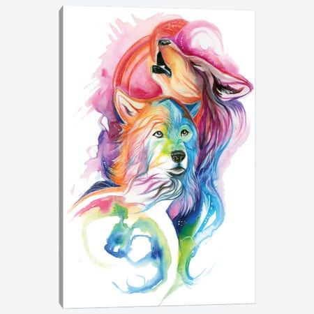 Protector Canvas Print #KLI101} by Katy Lipscomb Canvas Artwork