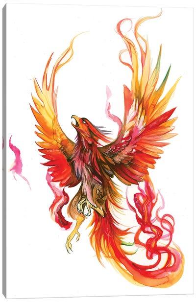 Rise of The Phoenix Canvas Art Print