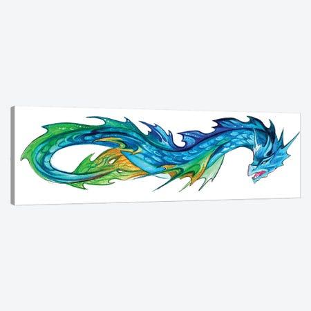 Sea Serpent Canvas Print #KLI121} by Katy Lipscomb Canvas Art