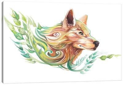 Season Wolf - Summer Canvas Art Print