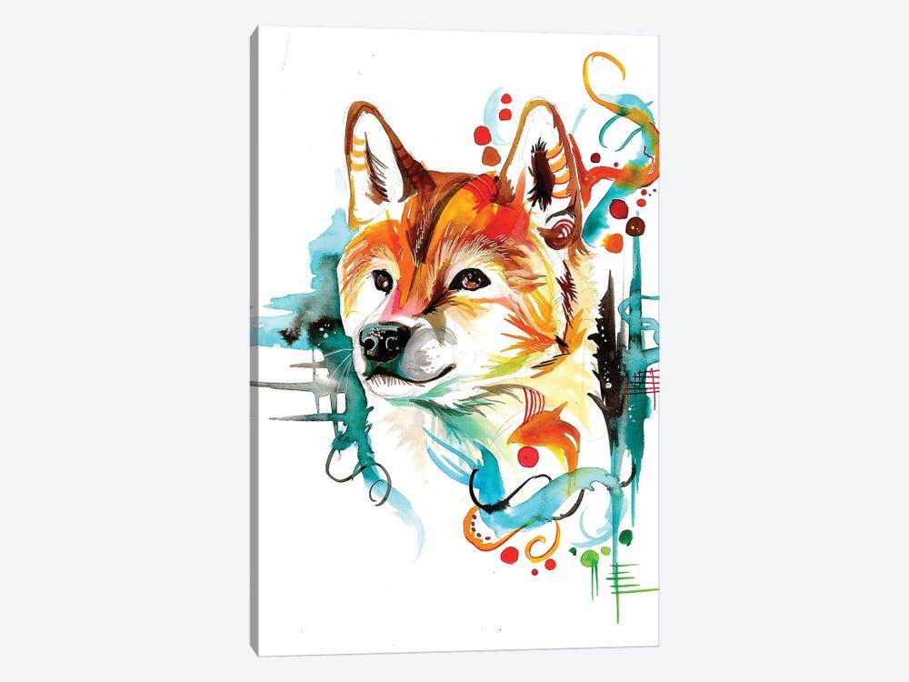 Shiba by Katy Lipscomb 1-piece Art Print