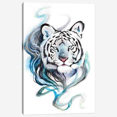 Smokey Tiger Canvas Print #KLI133} by Katy Lipscomb Canvas Print