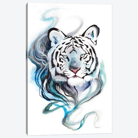 Smokey Tiger Canvas Print #KLI133} by Katy Lipscomb Canvas Print