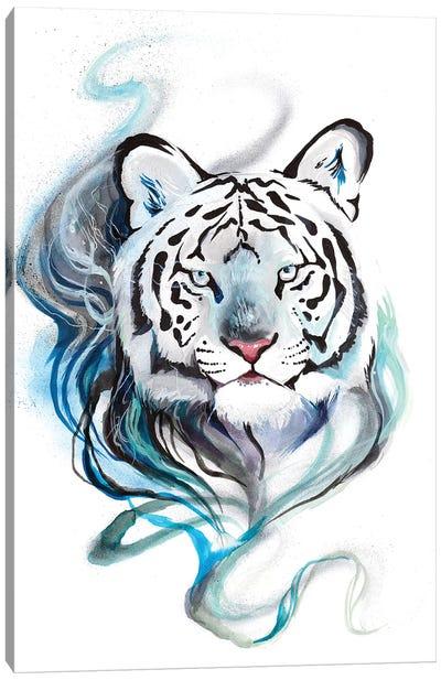 Smokey Tiger Canvas Art Print