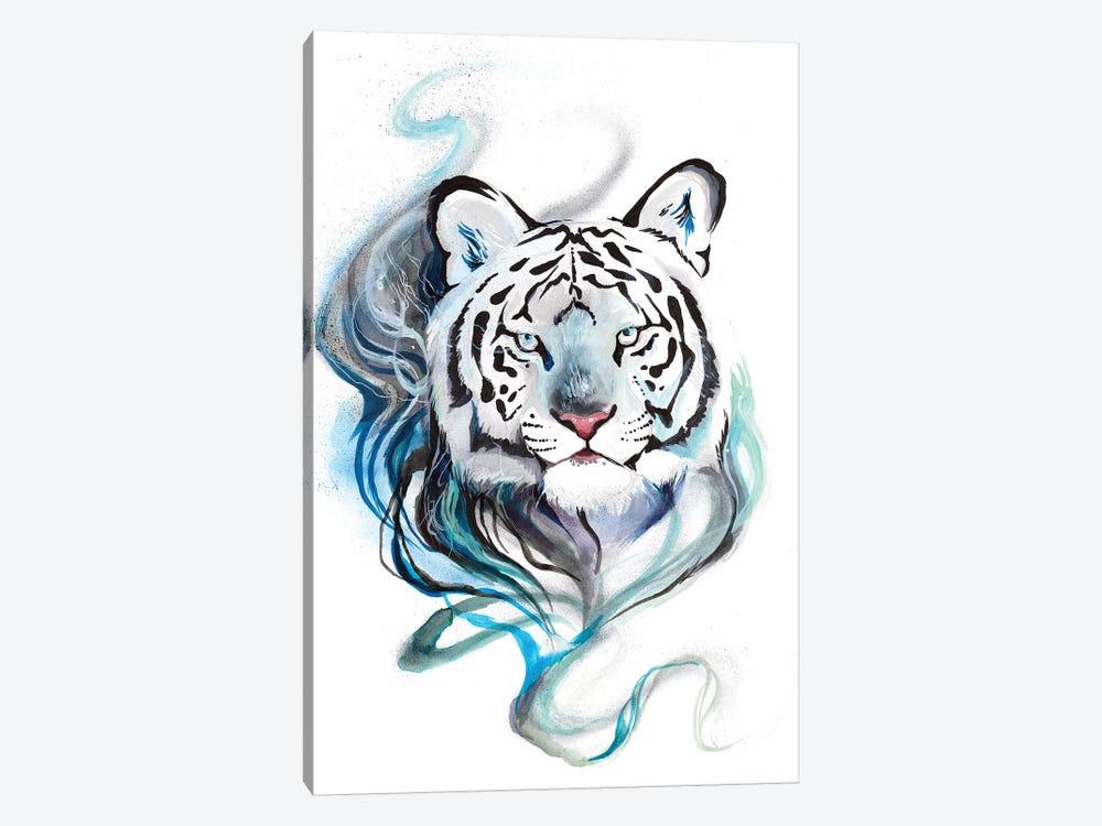 Smokey Tiger by Katy Lipscomb 1-piece Canvas Wall Art