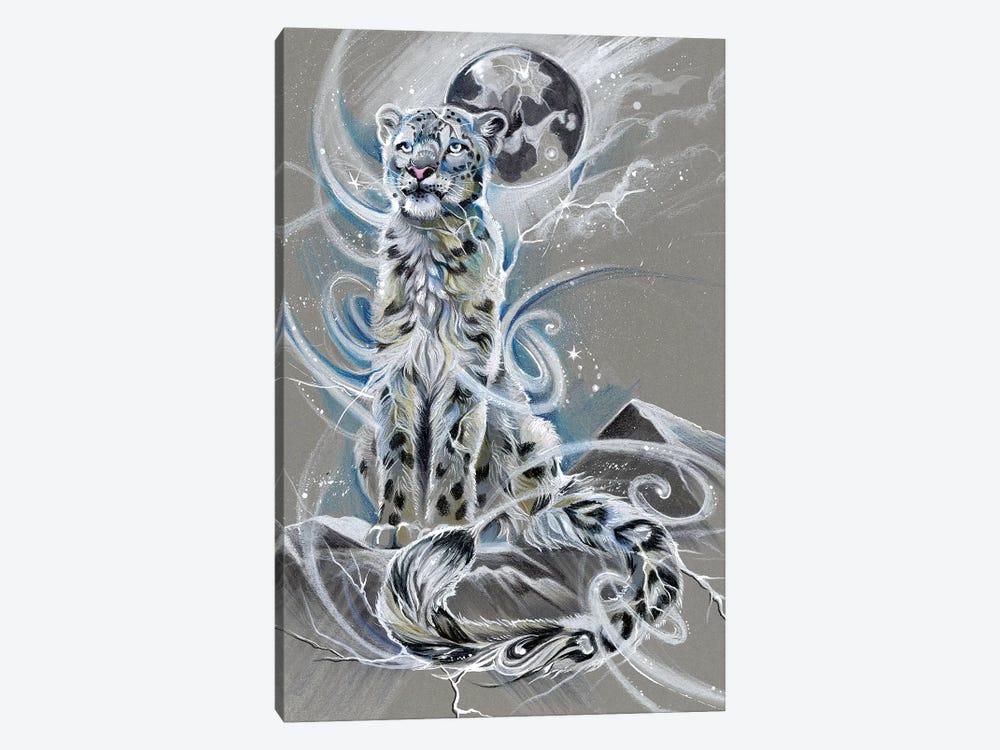 Snow Leopard by Katy Lipscomb 1-piece Canvas Print