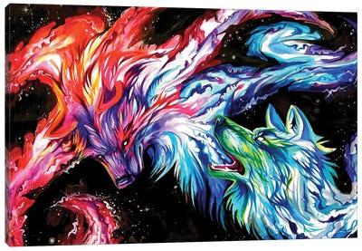 Space Wolves Canvas Art Print