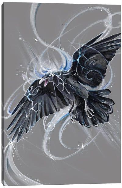 Spirit Raven Canvas Art Print