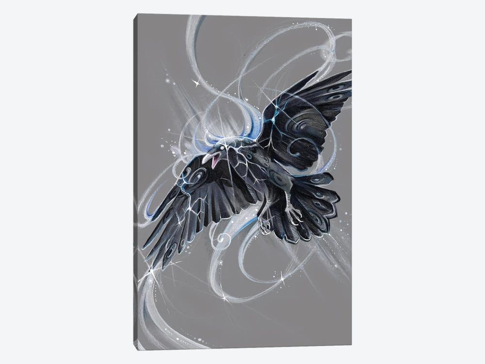 Spirit Raven by Katy Lipscomb 1-piece Art Print
