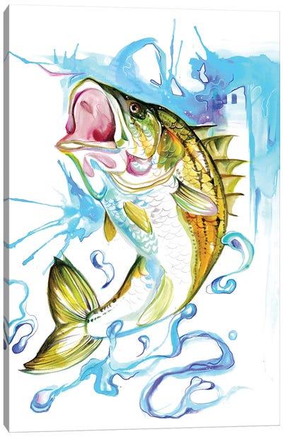 Striped Bass Canvas Art Print