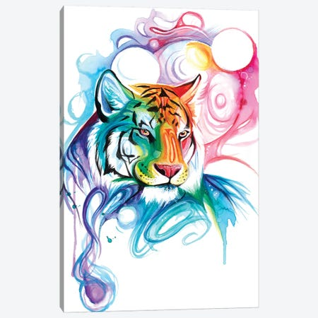 Tiger Spirit Canvas Print #KLI147} by Katy Lipscomb Canvas Print