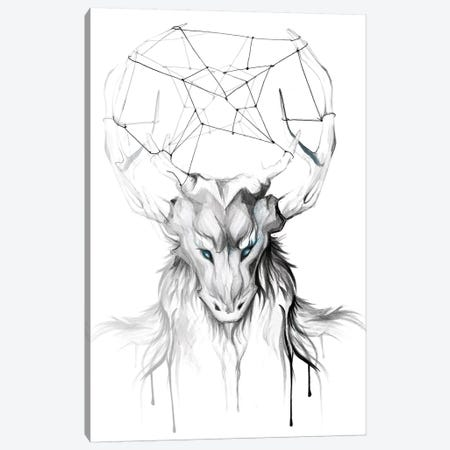 Wendigo Canvas Print #KLI150} by Katy Lipscomb Canvas Art Print